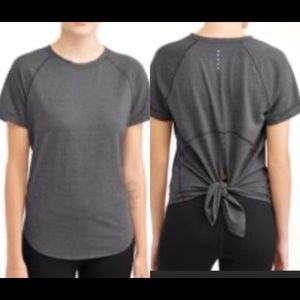 Athletic Works Active Tie Back Short Sleeve